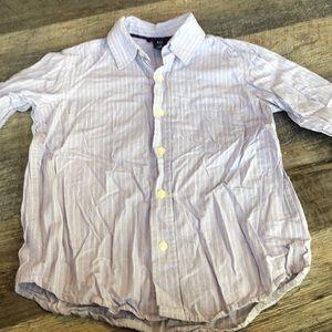Boys gap button down shirt (Easter?) small 6-7